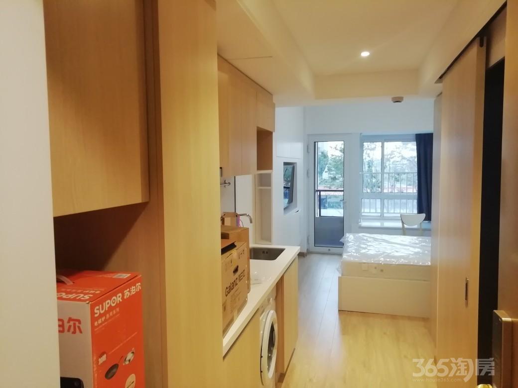 苏宁紫金嘉悦1室1厅1卫30平米2018年产权房精装