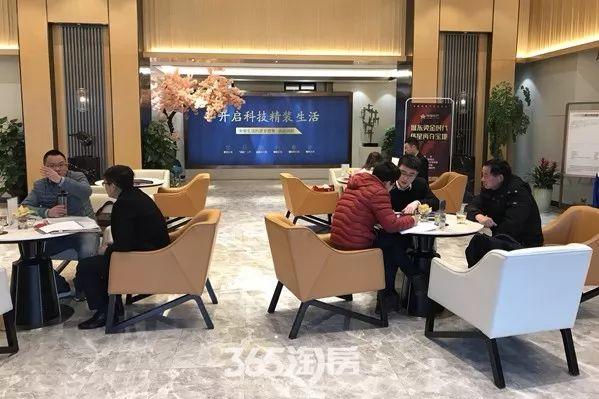 伟星时代之光新春看房实景图(2018.2摄)