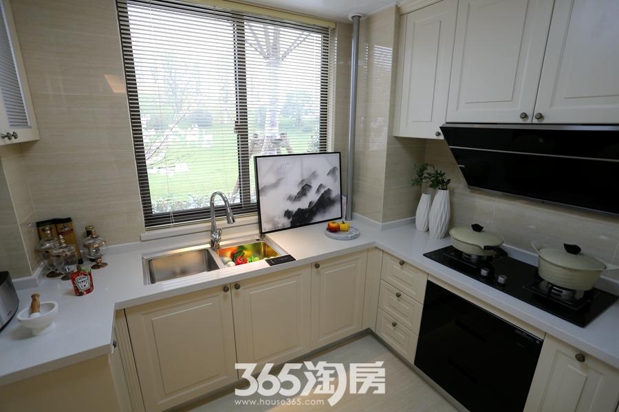 伟星金悦府140平样板间-厨房