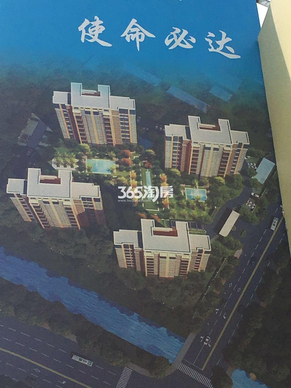 中建江浦G02地块鸟瞰图