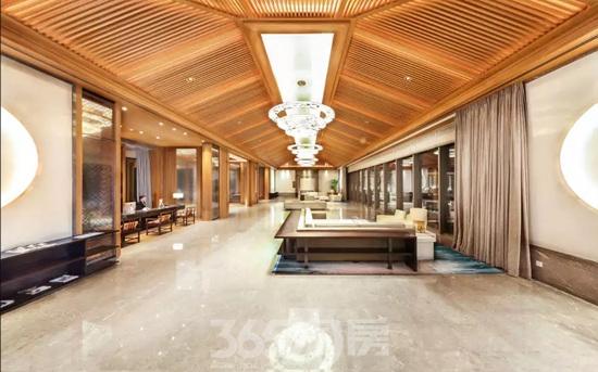 金螳螂作品杭州西湖国宾馆室内实景图(资料图片)