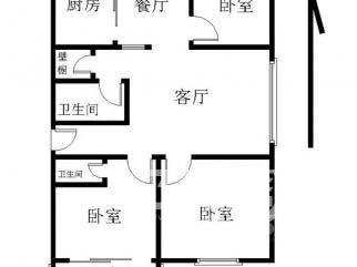 近地铁北小外校陪读南北通透3房2卫精装电梯房