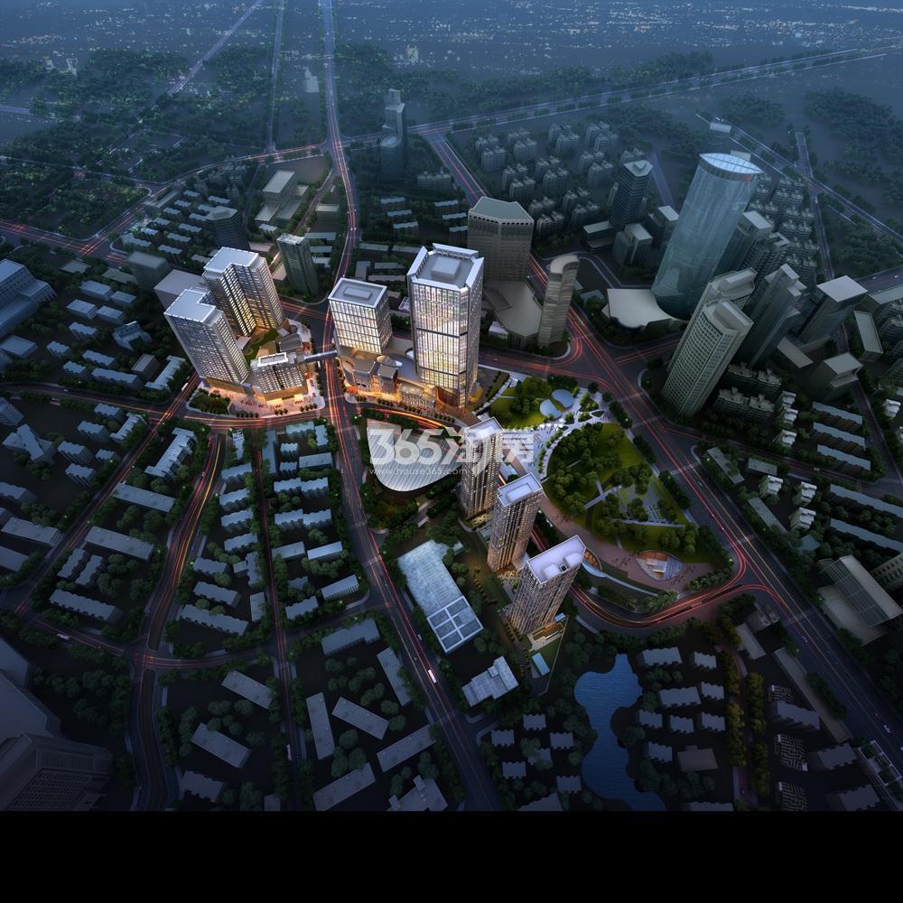 绿地紫金中心·观峰效果图