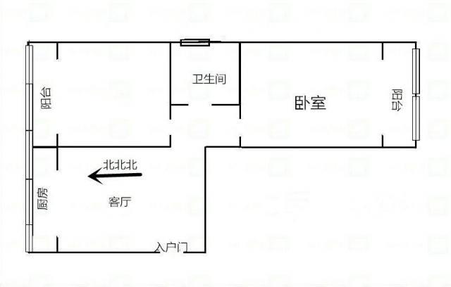 大兴新区 老城根商业街隔壁 送变电社区家属院 两室精装90万