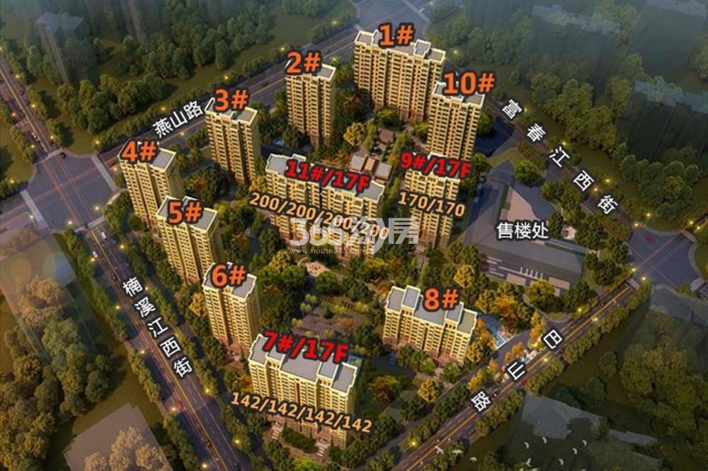 华新城鸟瞰图