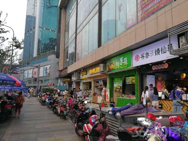 地铁口旁带租约临街商铺出售、成熟商业步行街、买即收租