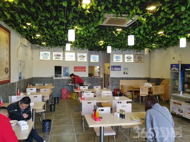 华阳餐饮店(租金220一平,年递增,开间5.8米)