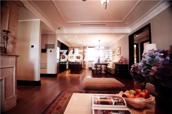 116平米 客厅样板间