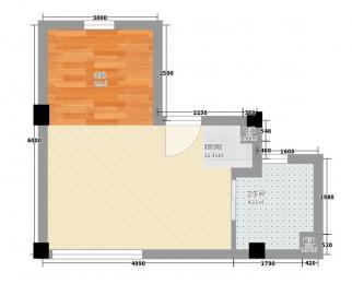 万达单身公寓精装全设+拎包入住+全新保养+交通便利