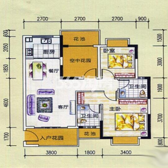 东峰世纪公寓