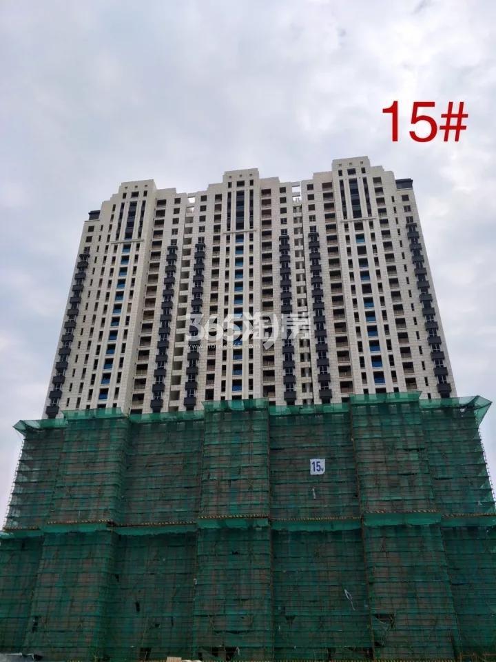 海玥名都15#在建实景图(11.21)