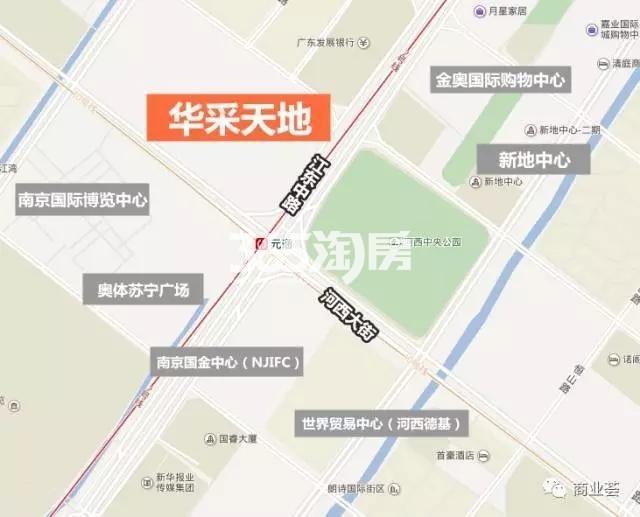 华采天地交通图