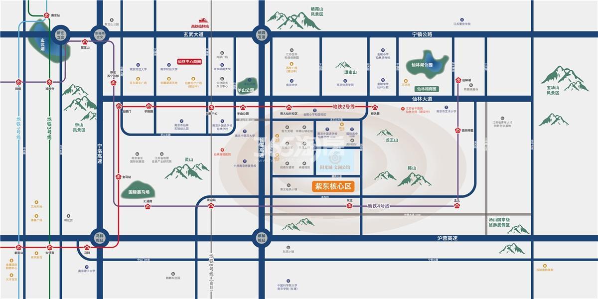 阳光城文澜公馆交通图