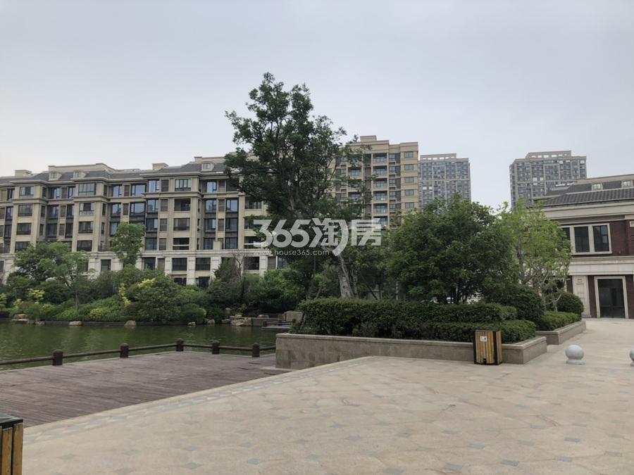 银亿东城洋房景观实景图(5.26)