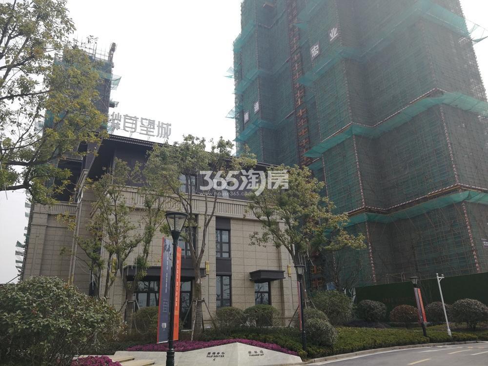 仙林首望城在建实景图(5.25)
