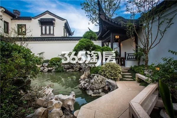 绿城南京桃花源实景图