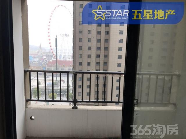 万方新都会 电梯13楼 86.6平2室 毛坯55万
