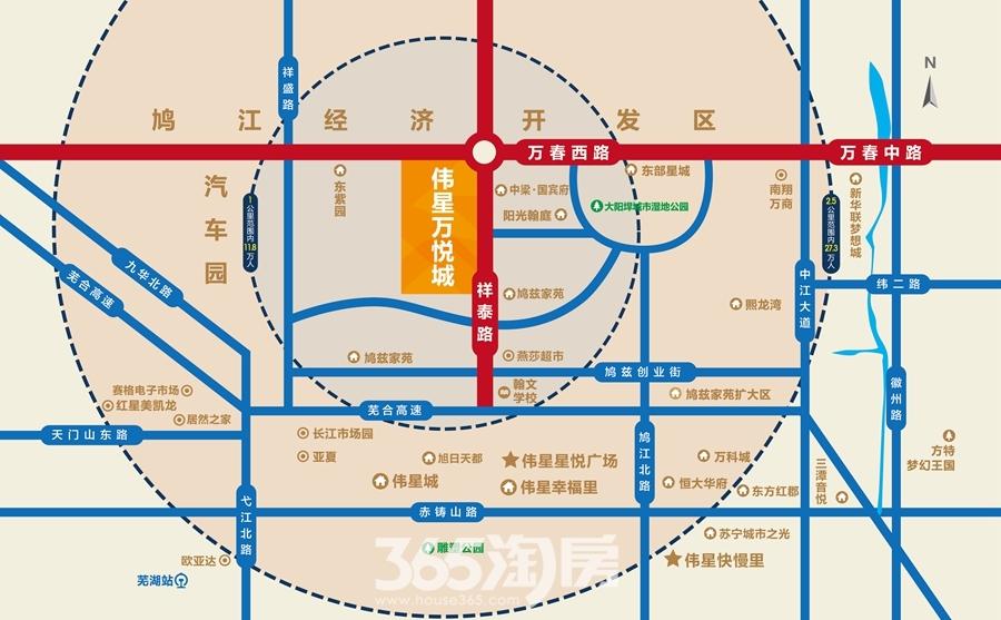 伟星万悦城交通图