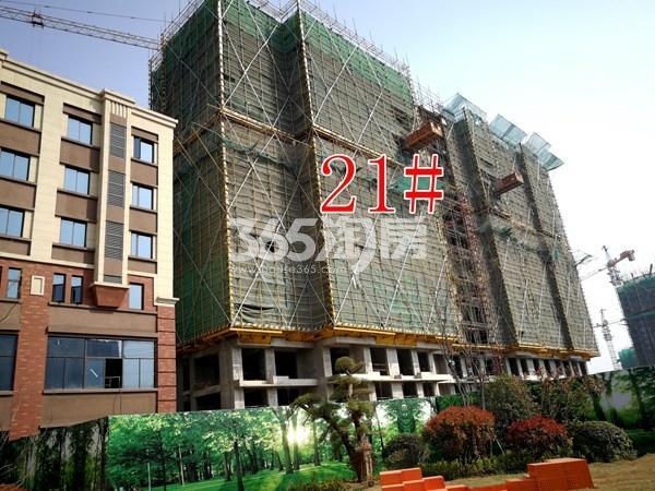 城置万锦城21#工地实景图(5.29)