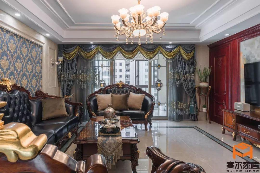 法式客厅|美式客厅|背景墙
