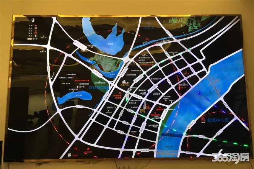 众森红谷一品交通图