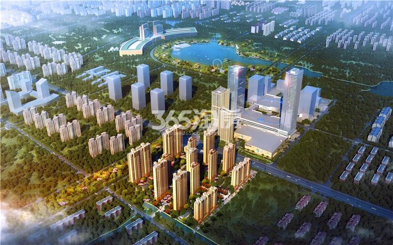 宝能城全新整体鸟瞰图
