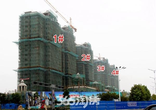 信德悦城1#2#3#4#施工中(2017.10摄)