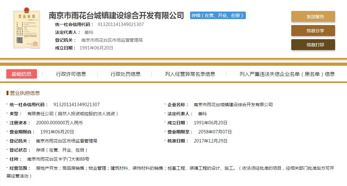 石林云城项目营业执照