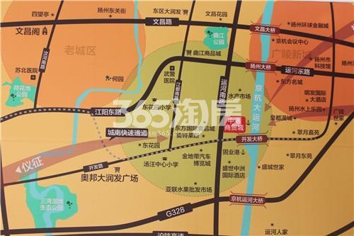 中港商贸城实景图