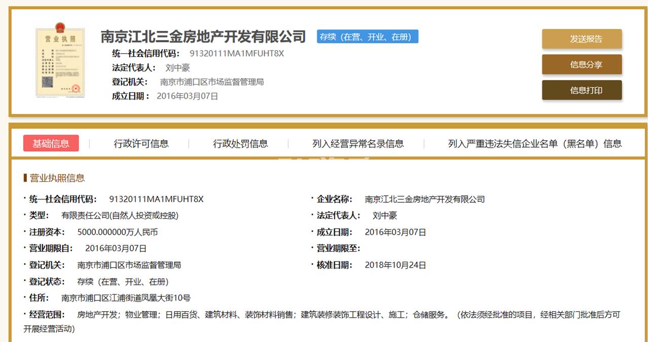 三金鑫宁府销售证照