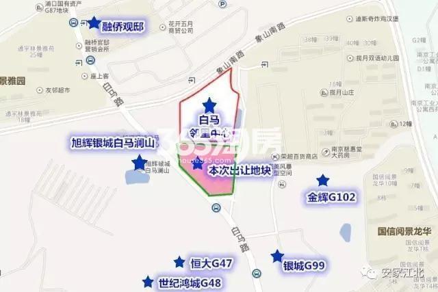 石林江浦G15地块交通图