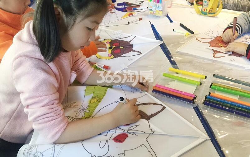 融创城定制纸鸢活动现场(2018.4.16)