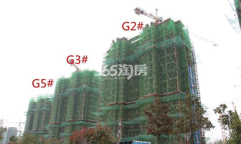 招商公园1872G2#G3#G5#工程进度实景图(2018.4.16)