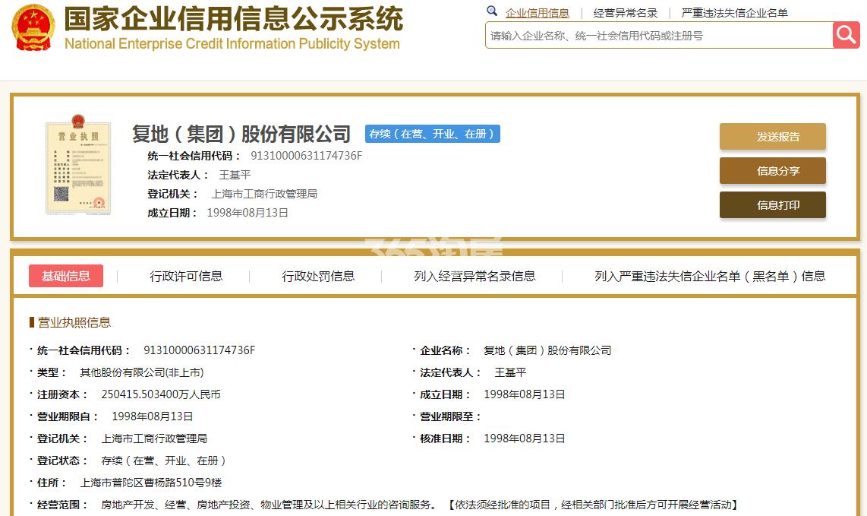 复地仙林G23地块销售证照