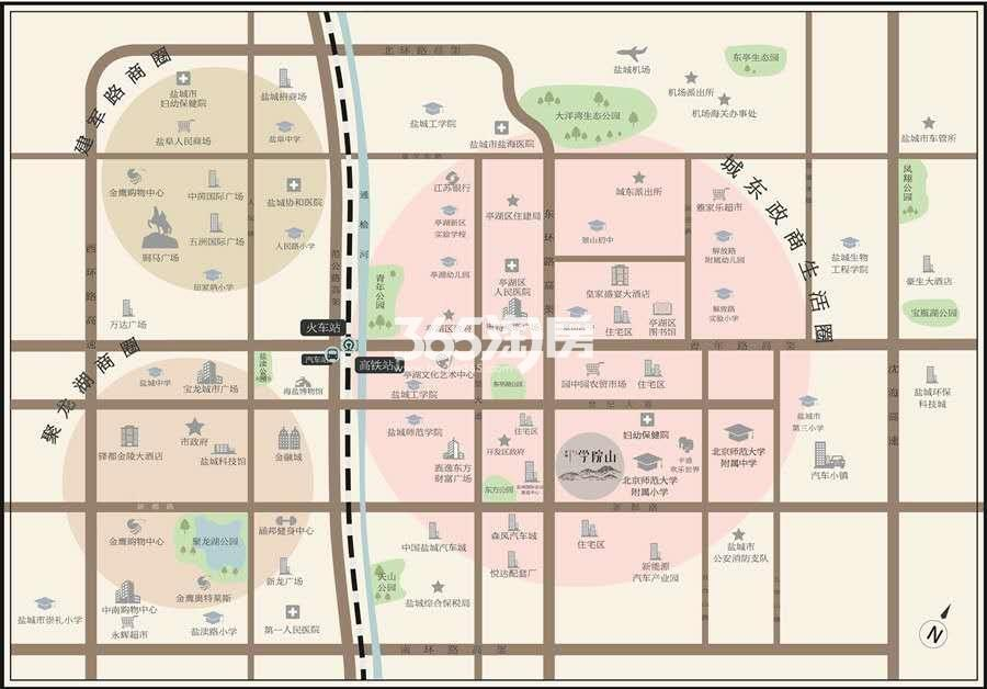 京师学院山交通图