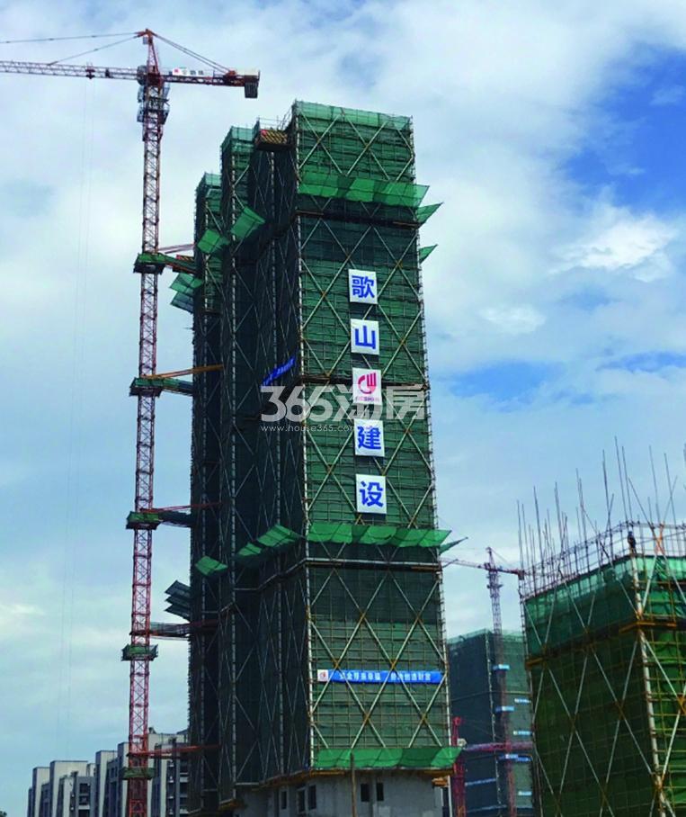 2017年10月金地大运河府1号楼实景