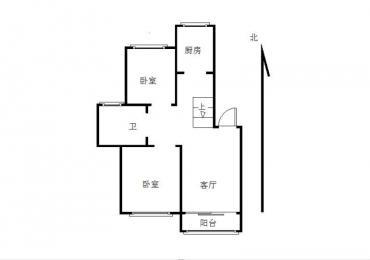 【整租】恒丰世家3室2厅