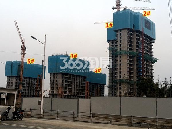 启迪协信无锡科技城A地块1-5#楼工程实景(2017.11摄)