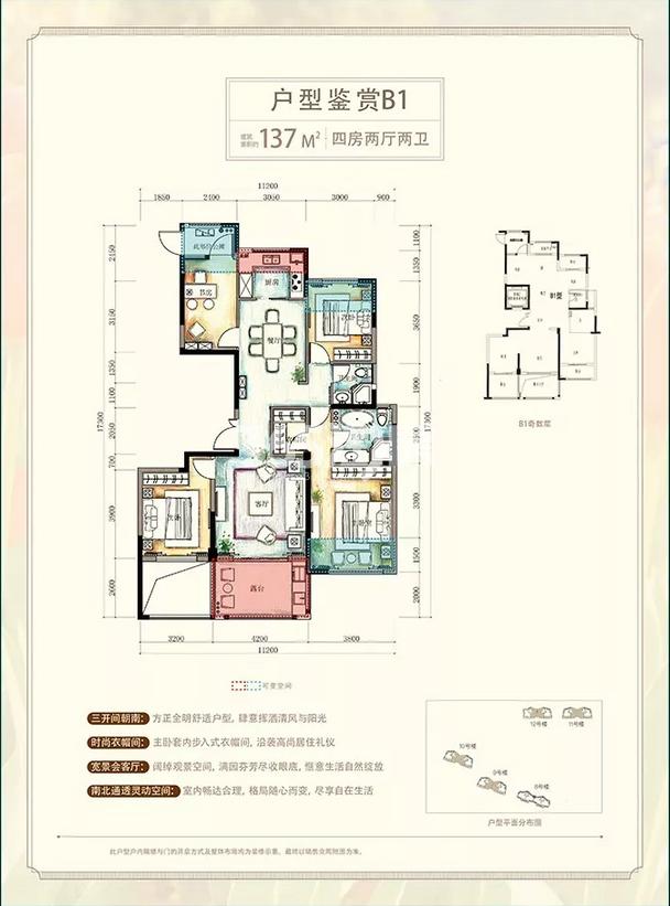 新中国际二期户型图