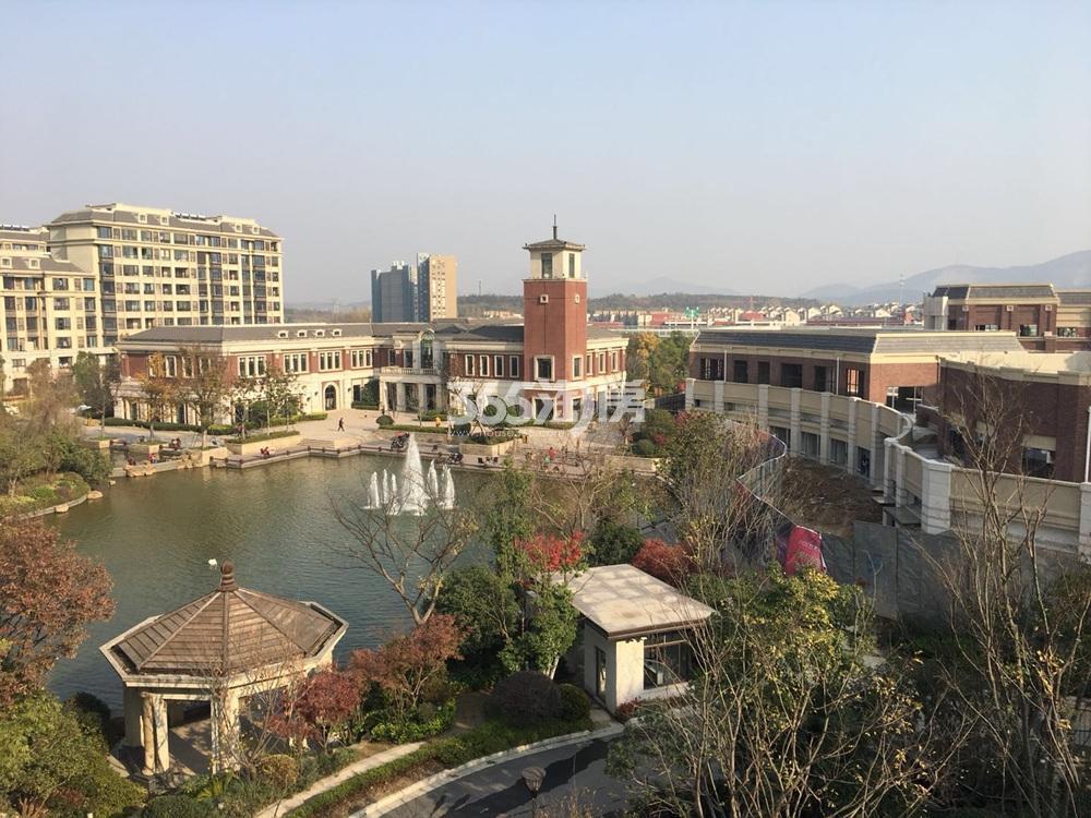 银亿一番街周边景观实景图(11.26)