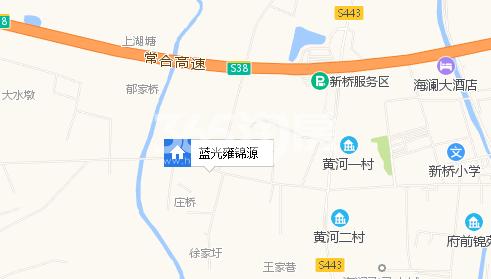 蓝光雍锦源交通图