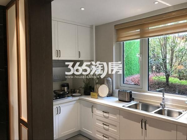 阳光100阿尔勒·星空洋房287平A1跃层样板间厨房