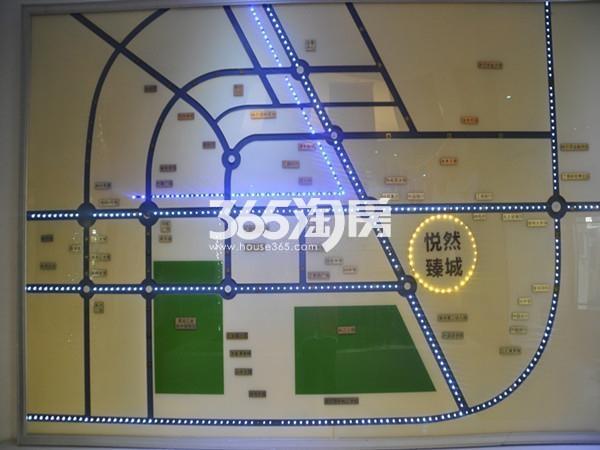 悦然臻城交通图