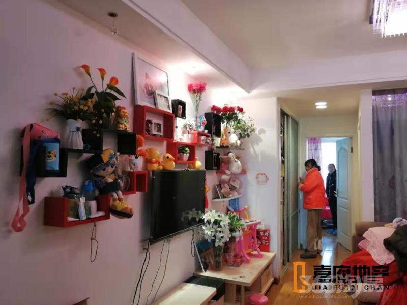 仙林悦城2室2厅1卫63平米2014年产权房豪华装
