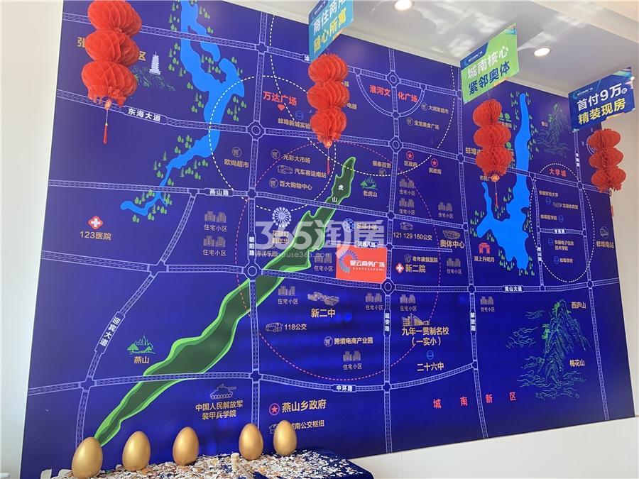 聚云商务广场实景图