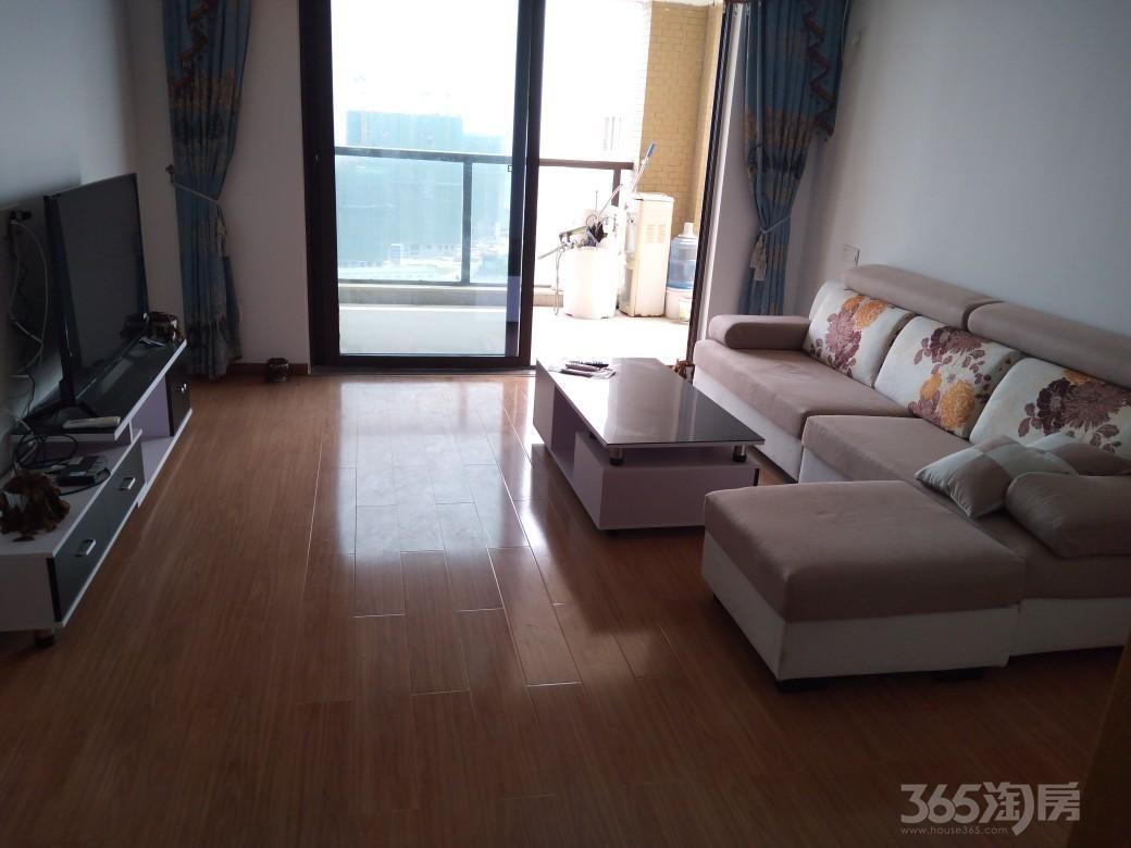 庆盛·名邸2室2厅1卫109平米2015年产权房精装
