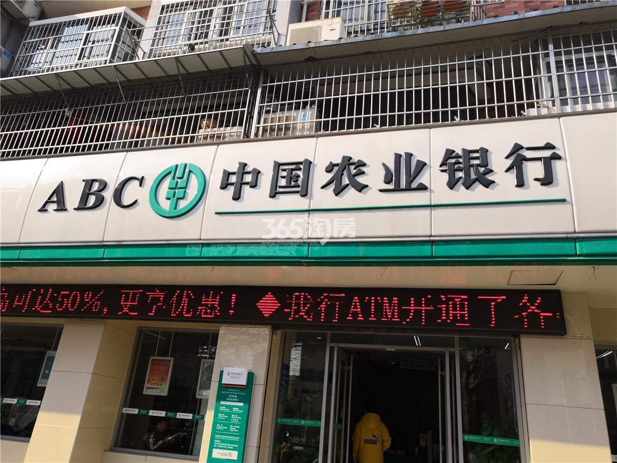 瑞泰・滨江公馆 周边中国农业银行实拍  201904