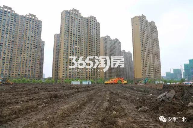 五矿江浦G25地块实景图(7.7)