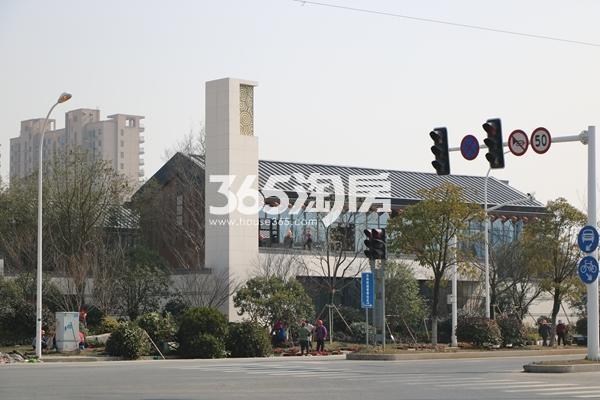 蓝光雍锦里实景图(2017.2 摄)