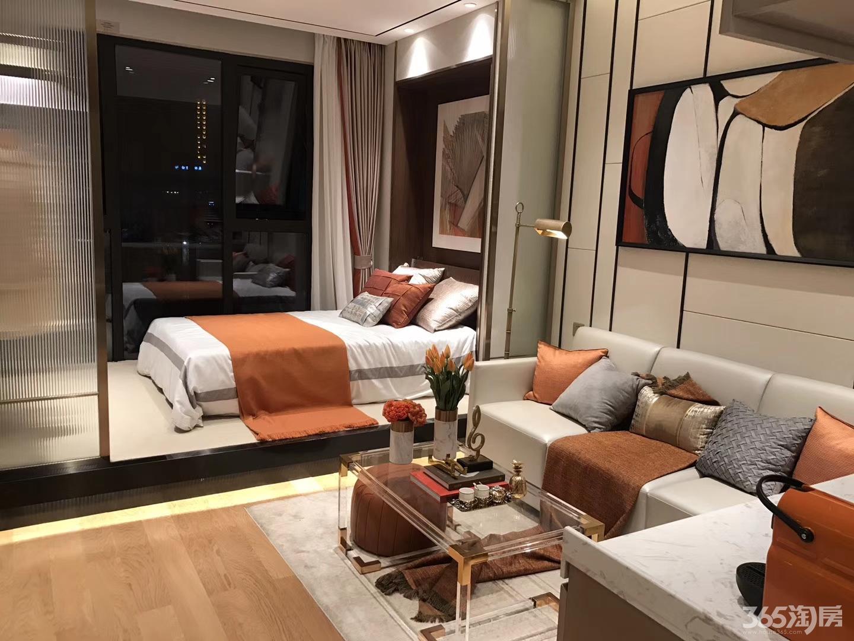 1室1厅 特价精装公寓 中海桃源里 鼓楼滨江核心 地铁口